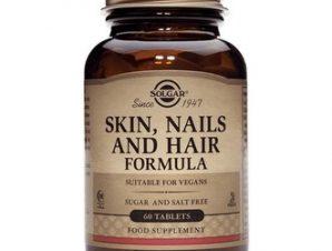 Solgar Skin, Nails & Hair Formula,60tabs – Διατροφική Φόρμουλα για την Καλή Υγεία των Μαλλιών του Δέρματος και των Νυχιών